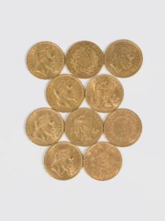 Pièces en or