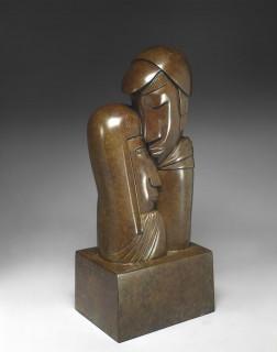 Jean Lambert Rucki, Tendresse, bronze
