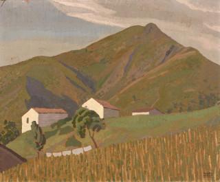 Raymond Arrue, Paysage, vente aux enchères