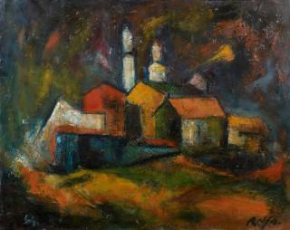 Raya Sorkine, Saint Paul de Vence, tableau