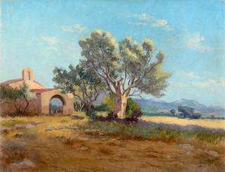 René Seyssaud, Chapelle Sainte Catherine, tableau