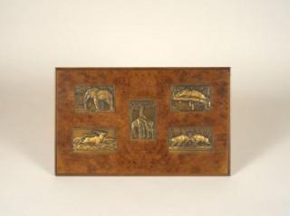 René Thenot, deux panneaux reliefs
