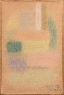 Serge Charchoune, Composition, pastel