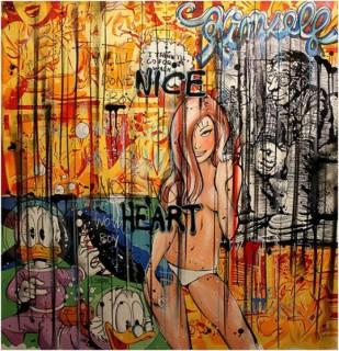 Benjamin Spark, Nice Heart, tableau