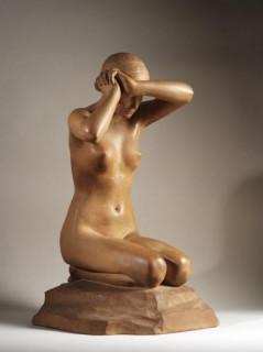 Stanislas Lami, première faute, sculpture