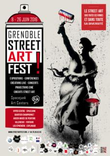 Street Art Fest à Grenoble