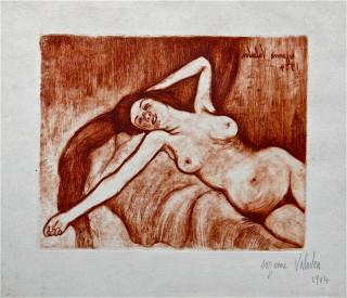 Suzanne Valadon, nu allongé