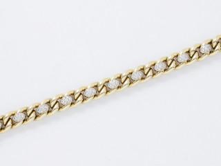 Van Cleef & Arpels, bracelet or et diamants