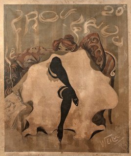 Lucien Henri Weiluc, Frou-Frou, affiche