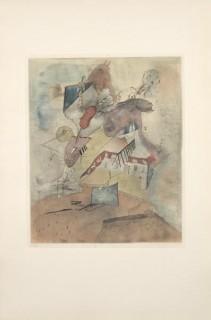 Otto Wols, 4 gravures en couleurs