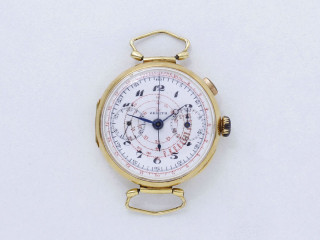 Zenith, montre chronographe monopoussoir