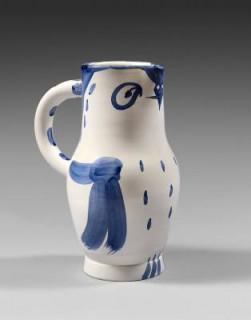 Pablo Picasso, hibou, céramique