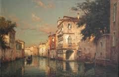 Eloi Noel Bouvard, vue de Venise, tableau
