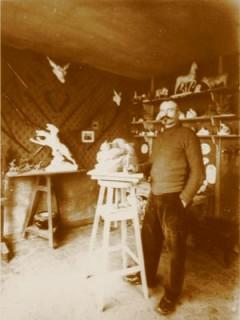Charles Virion, un sculpteur grand chasseur