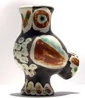 Pablo Picasso, , chouette, céramique