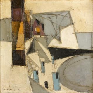 Claude Venard, composition abstraite