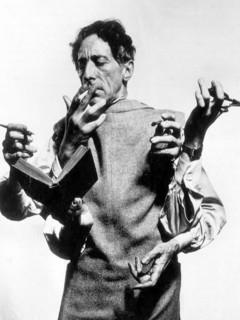 Jean Cocteau, mère et enfant, dessin