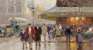 Edouard Cortès, un amoureux de Paris