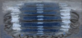 Serge Charchoune, Composition bleue, tableau