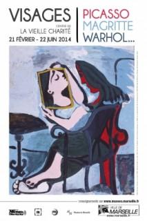 Visages, Picasso, Magritte, Warhol à la Vieille Charité à Marseille