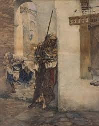 Fabres y Costa Antonio Maria, snipers, aquarelle