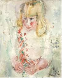 Gen Paul, jeune fille, tableau