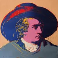 Warhol andy, Goethe, sérigraphie