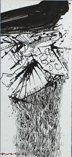John Levee, drawing 5, encre de Chine
