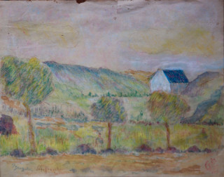 Claude Emile Schuffenecker, paysage