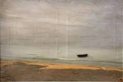 Carolus Duran Emile, plage de trouville, tableau