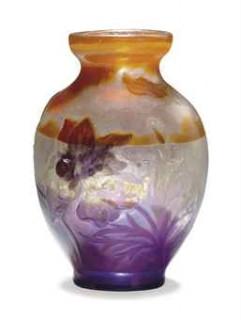 Vases Gallé, des prix très variables
