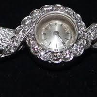 Montre Zénith or et diamants