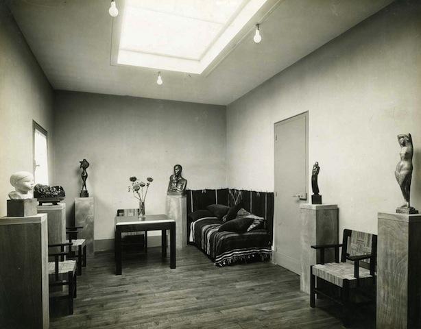 1926 la maison atelier de chana orloff par auguste perret for Atelier de la maison