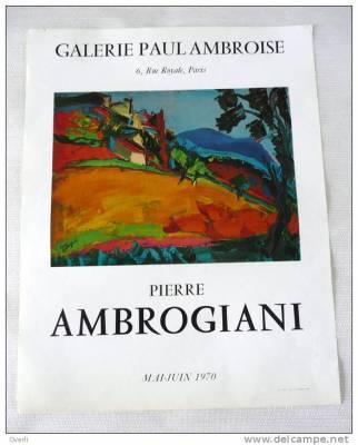 Pierre Ambrogiani, quelle est la valeur de ses peintures?