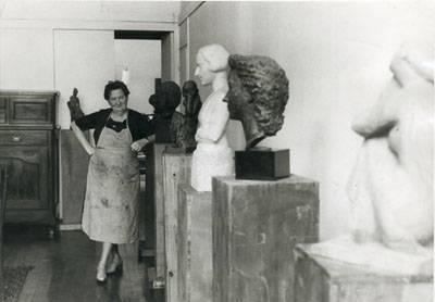 Chana Orloff, femme sculpteur