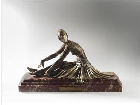 Demeter Chiparus, Tanara, sculpture