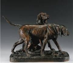Auguste Cain, Brillador et Fanfaron, bronze