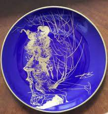 Salvador Dali, le veau d'or, céramique