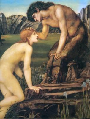 Edward Burne Jones, peinture préraphaélite