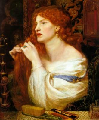 Dante Gabriel Rossetti, peintre préraphaélite