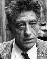 Alberto Giacometti, pied de lampe, bronze