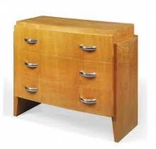 Jacques Adnet, commode, mobilier