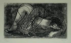 Fautrier Jean - Femme étendue IV, 1942