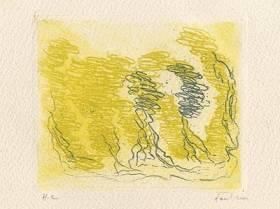 Fautrier Jean - Les Cinq arbres