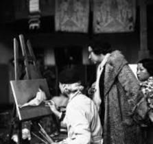 Marie Laurencin, le voile jaune, tableau