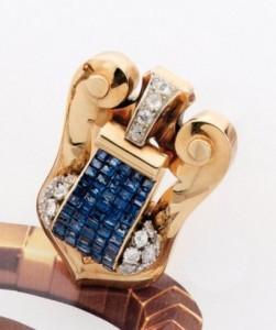 Boucheron, clip de corsage