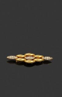 Cartier broche or