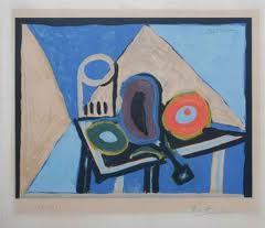 Picasso Pablo, nature morte à l'aubergine