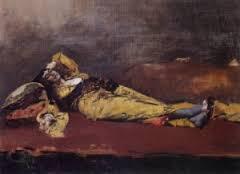 Alberto Pasini, odalisque, tableau